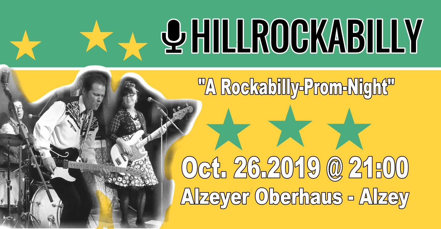 Hillrockabilly - Rockabilly im Alzeyer Oberhaus