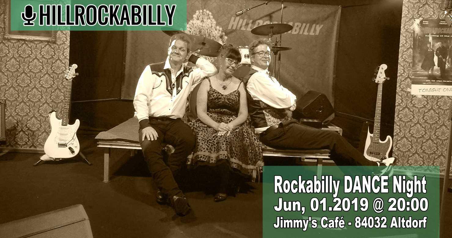 Hillrockabilly Live in Jimmys Cafe